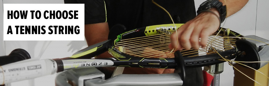 How to Choose a Tennis String Promo