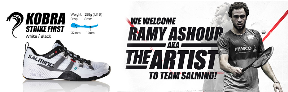 Salming Shoes Header
