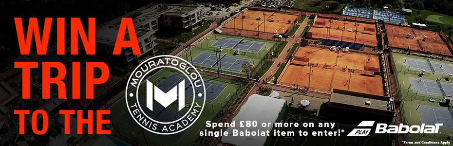 Win a trip to the Mouratoglou Tennis Academy Banner