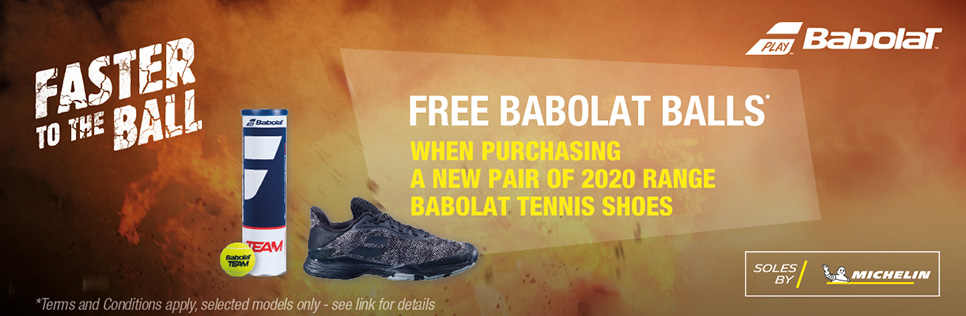 Babolat Footwear 2020 Offer