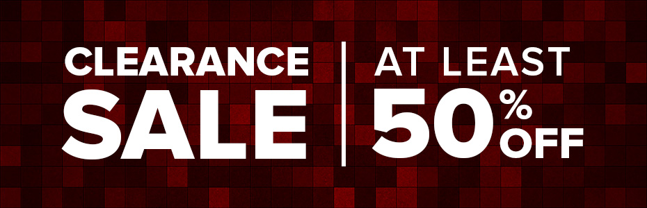 Clearance Sale - At Least 50 Off