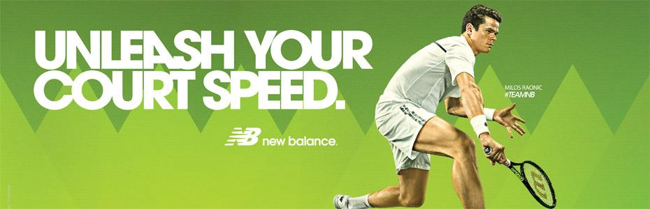 new balance tennis apparel