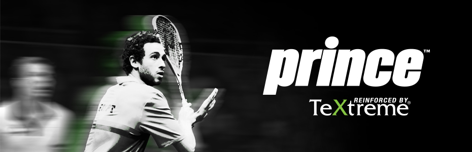 Prince Squash Rackets Banner