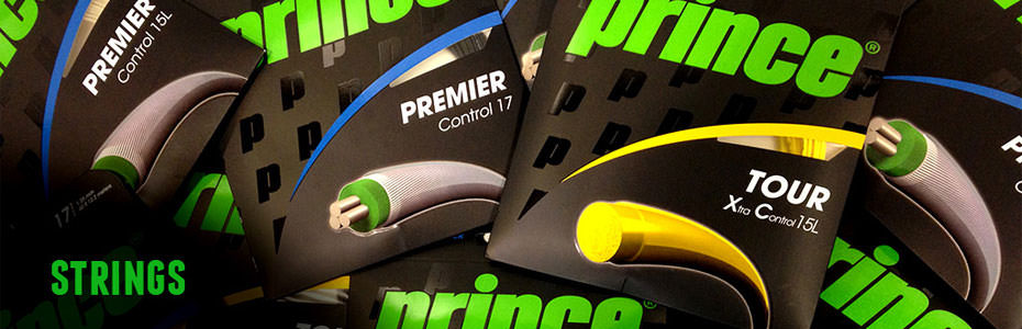 Prince Tennis Strings Promo