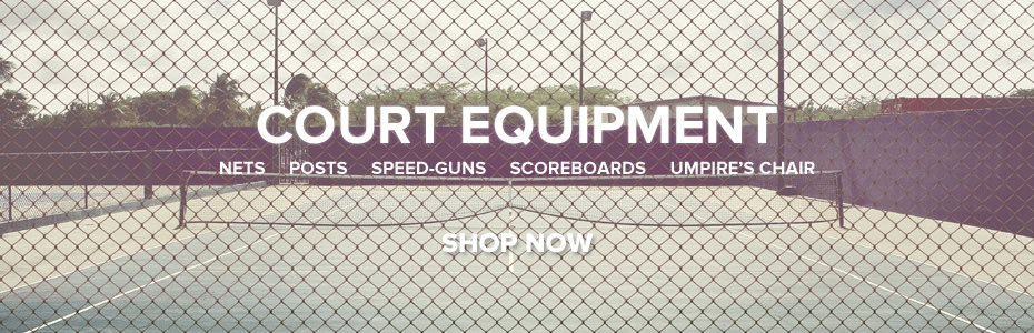 Tennis Court Equipment Promo