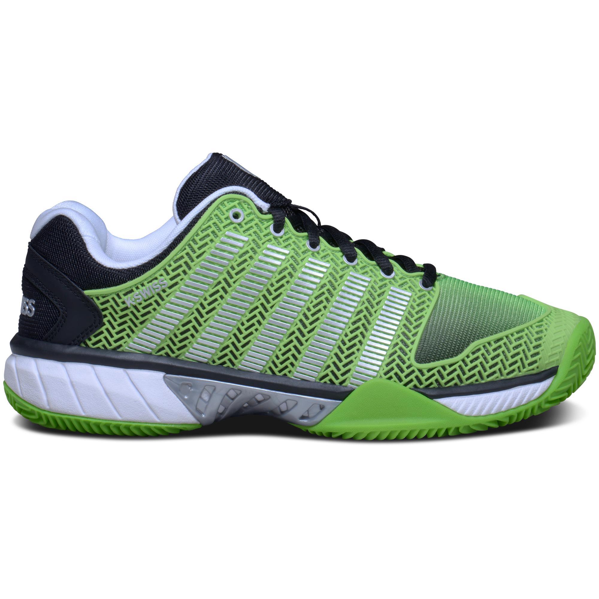 k swiss mens hypercourt express tennis shoes green black