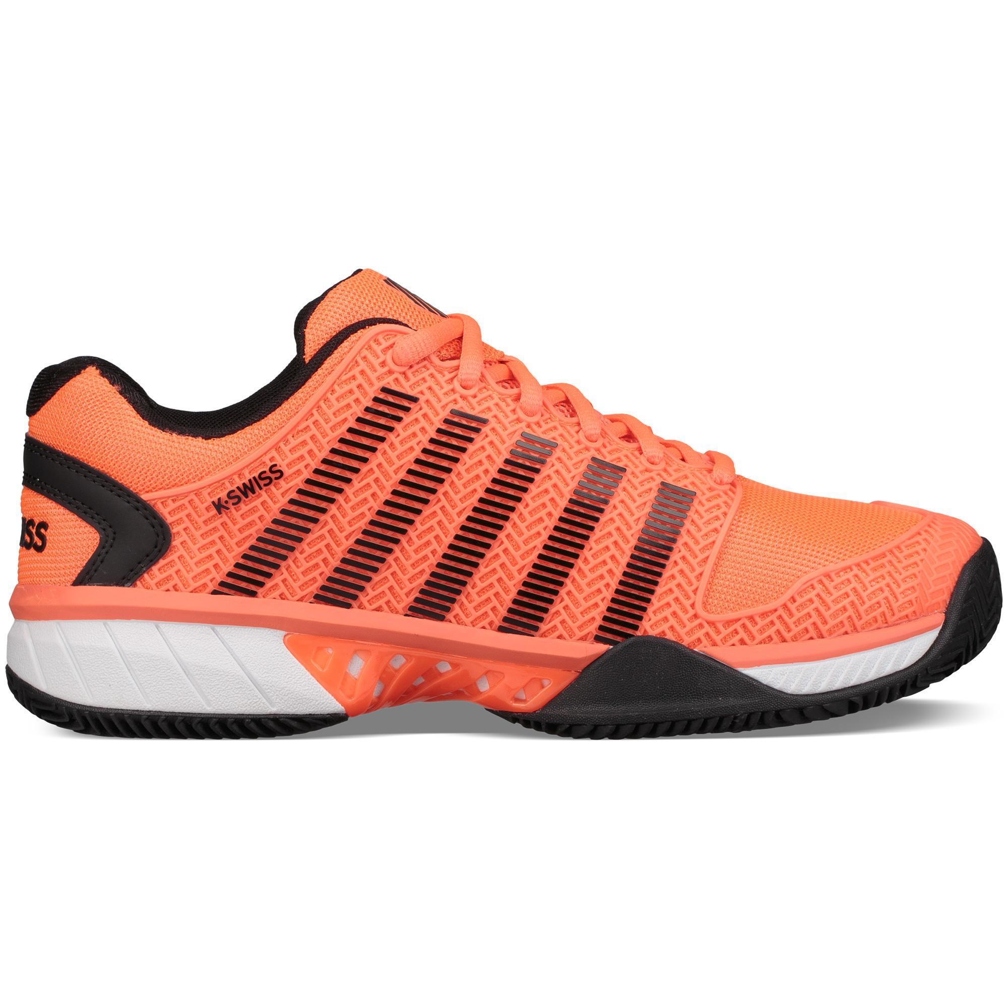 K-SWISS HYPERCOURT EXPRESS HB - Outdoor tennis shoes - neon blaze/black XFZOaO