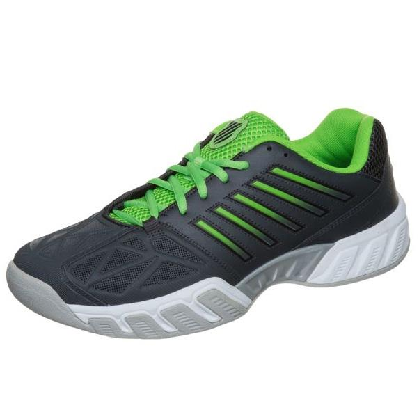 7d6efccb2eff K-Swiss Mens Bigshot Light 3.0 Carpet Tennis Shoes - Black Neon Green -  Tennisnuts.com
