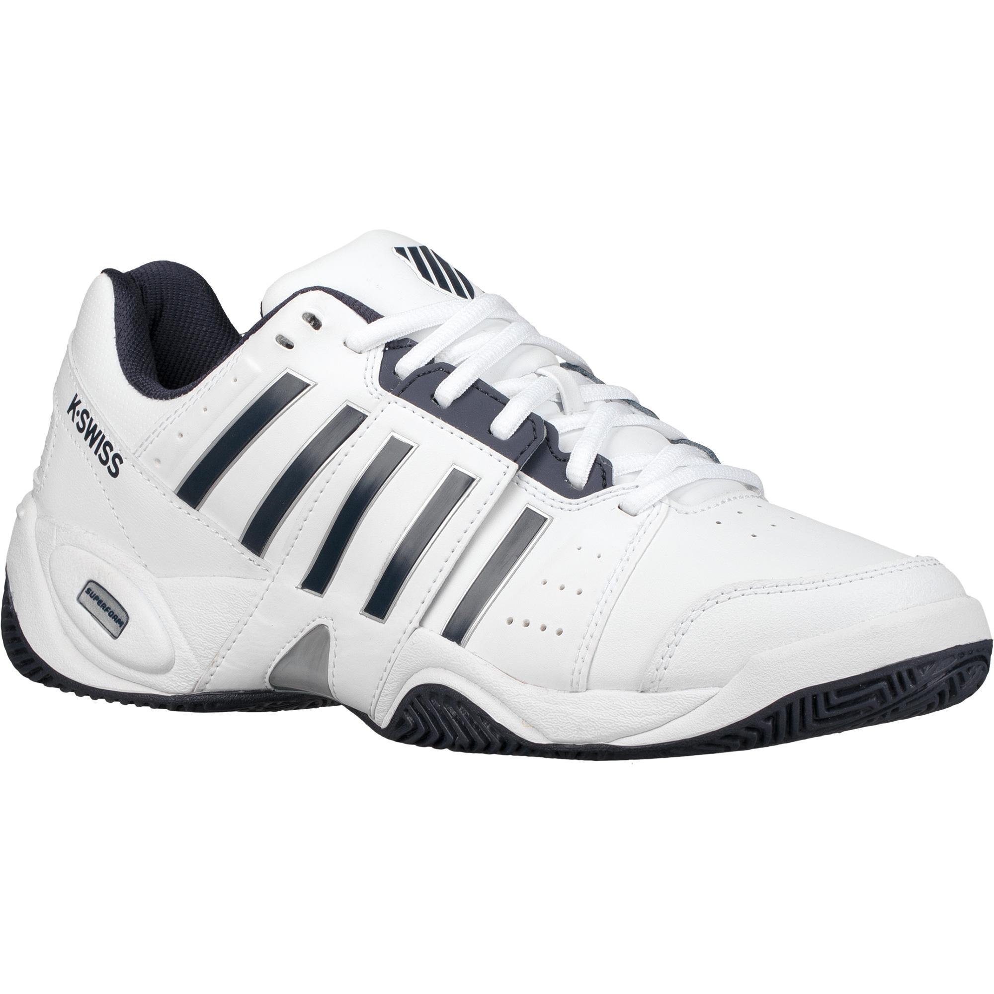 Mens Accomplish III Tennis Shoes, White K-Swiss