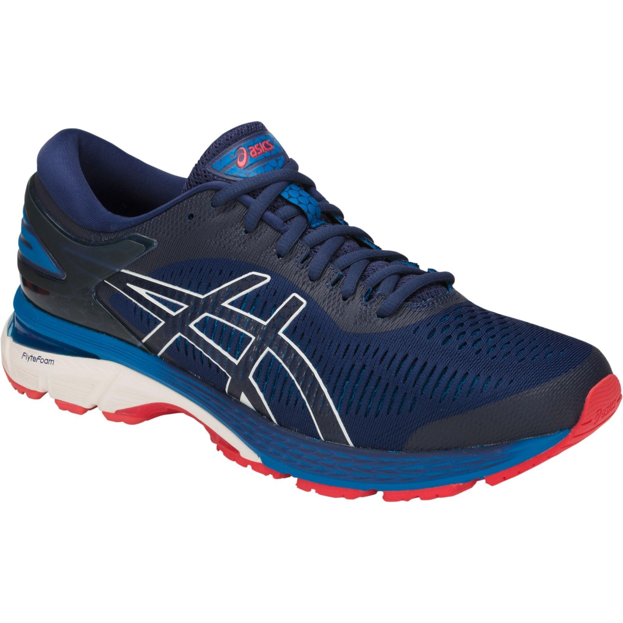 Asics Mens GEL-Kayano 25 Running Shoes - Blue - Tennisnuts.com