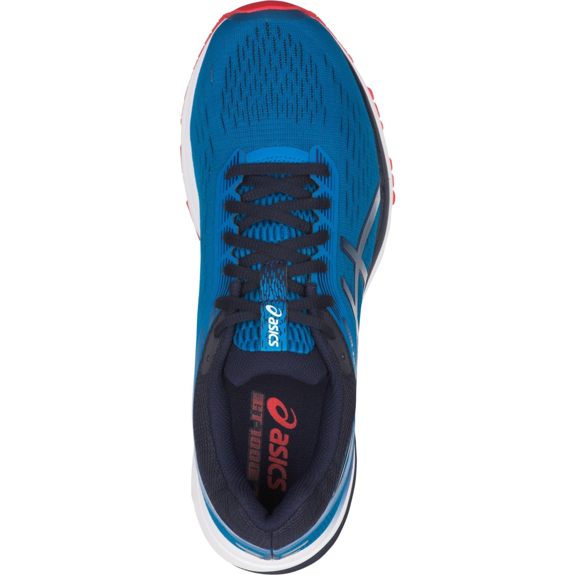 6d43ba683f Asics Mens GT-1000 7 Running Shoes - Race Blue/Peacoat - Tennisnuts.com