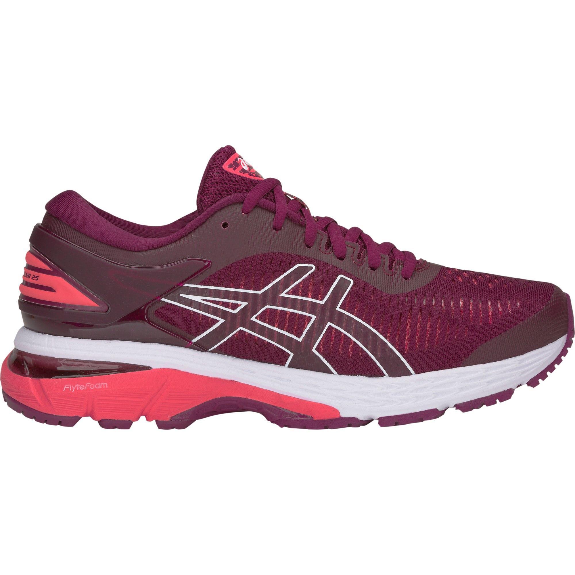 myymälä ajatuksia Tarjouskoodi Asics Womens GEL-Kayano 25 Running Shoes - Roselle/Pink