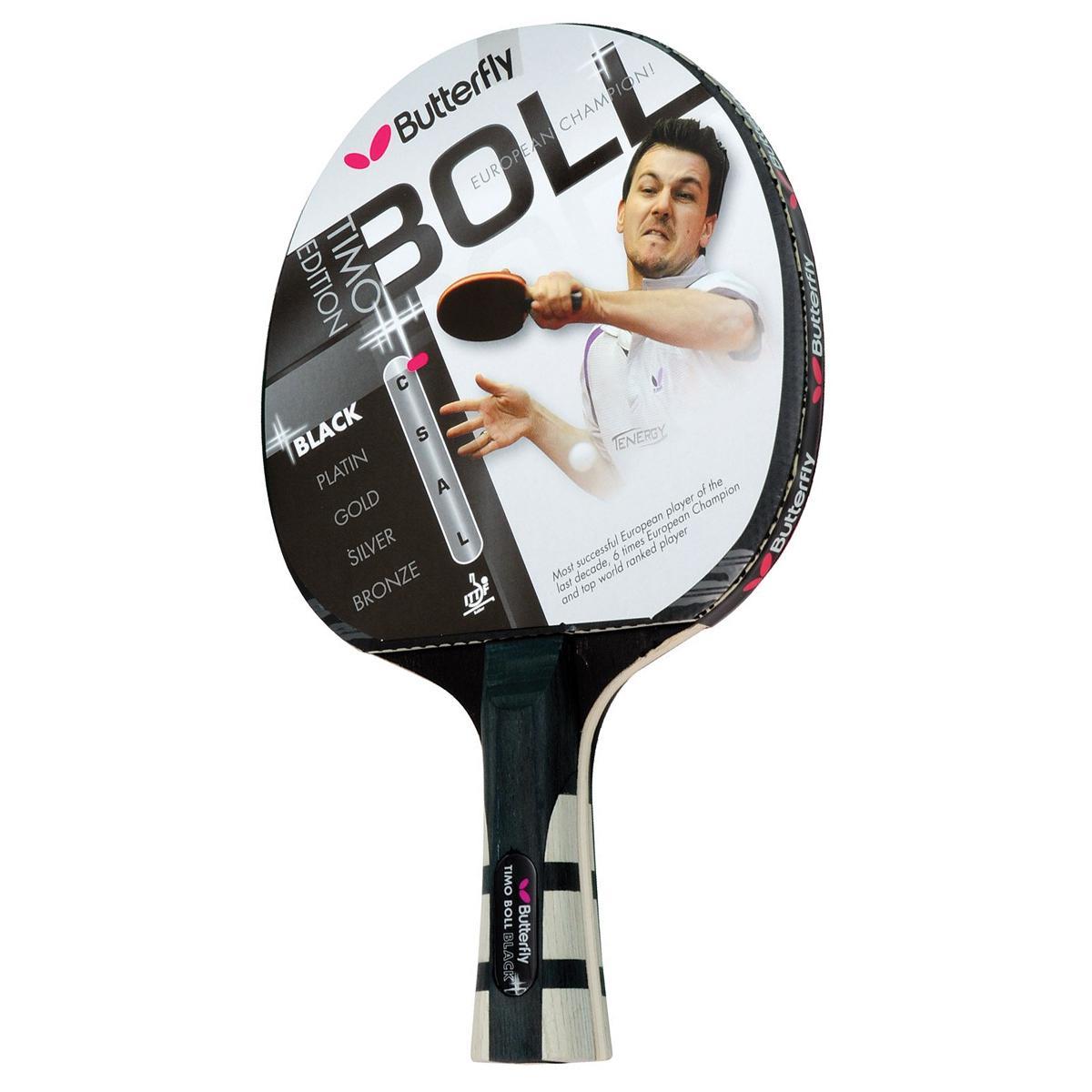 Butterfly Timo Boll Black Table Tennis Bat Tennisnuts Com
