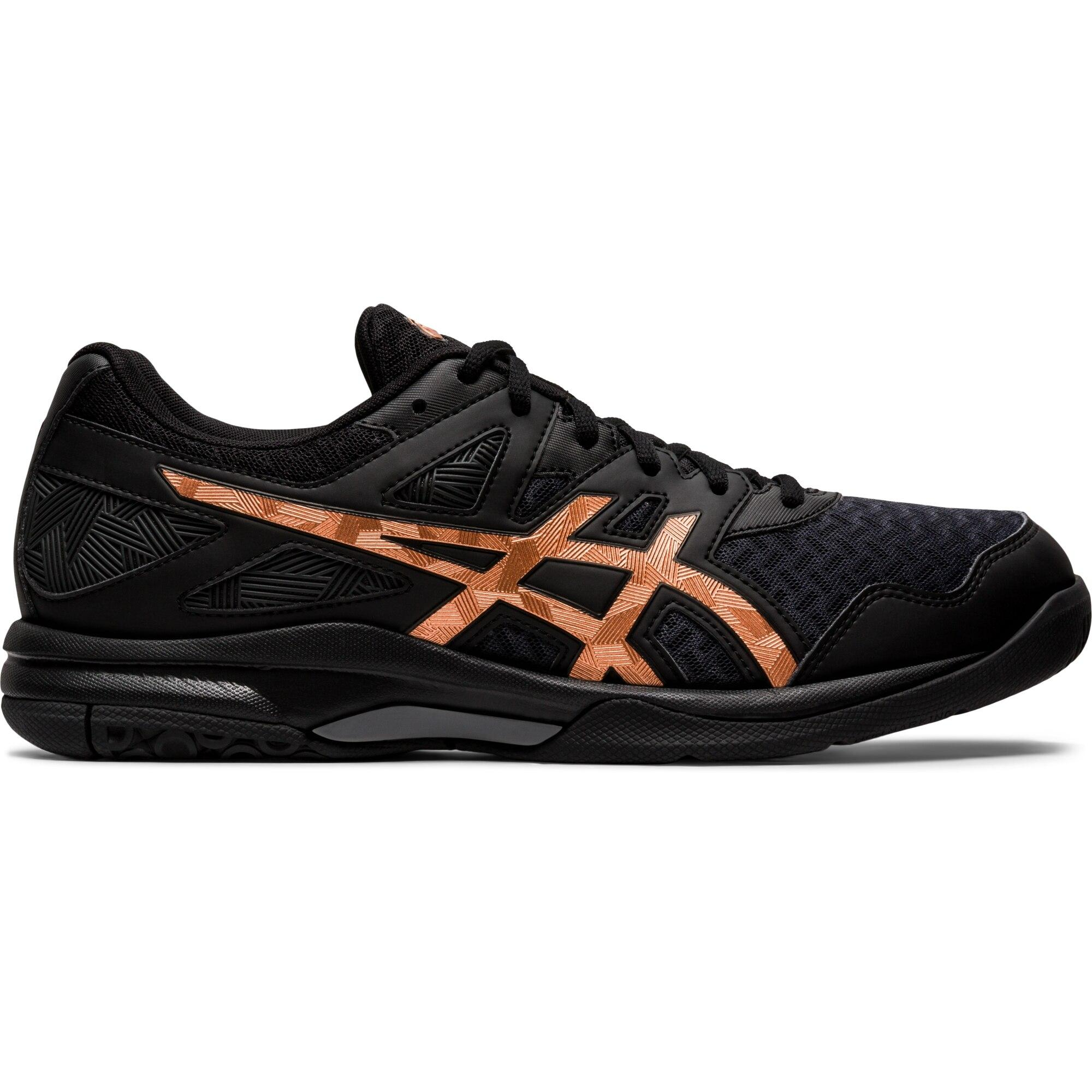 Asics Mens GEL-Task 2 Indoor Court Shoes - Black/Pure Bronze