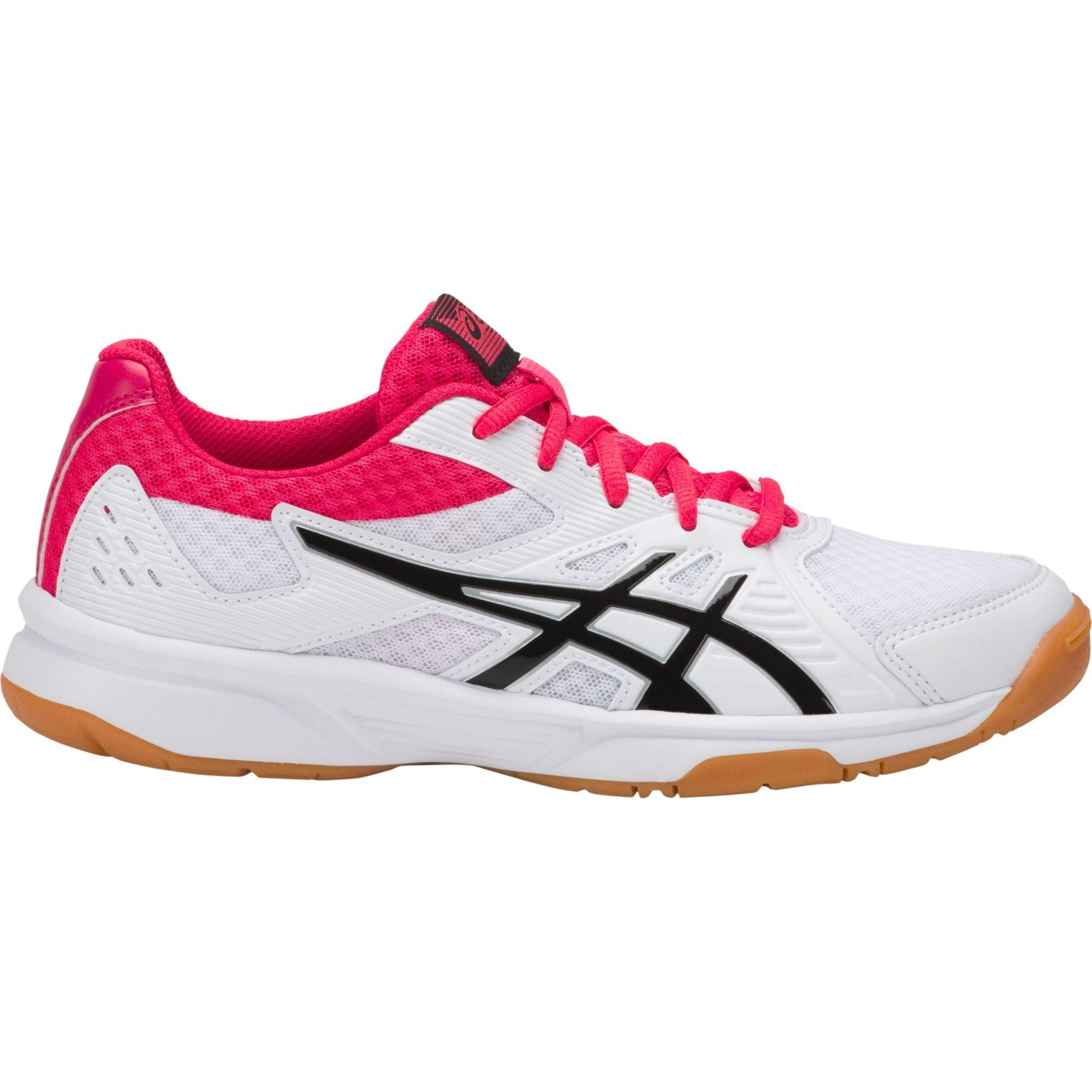 Asics Womens Upcourt 3 Indoor Court Shoes WhitePixel Pink