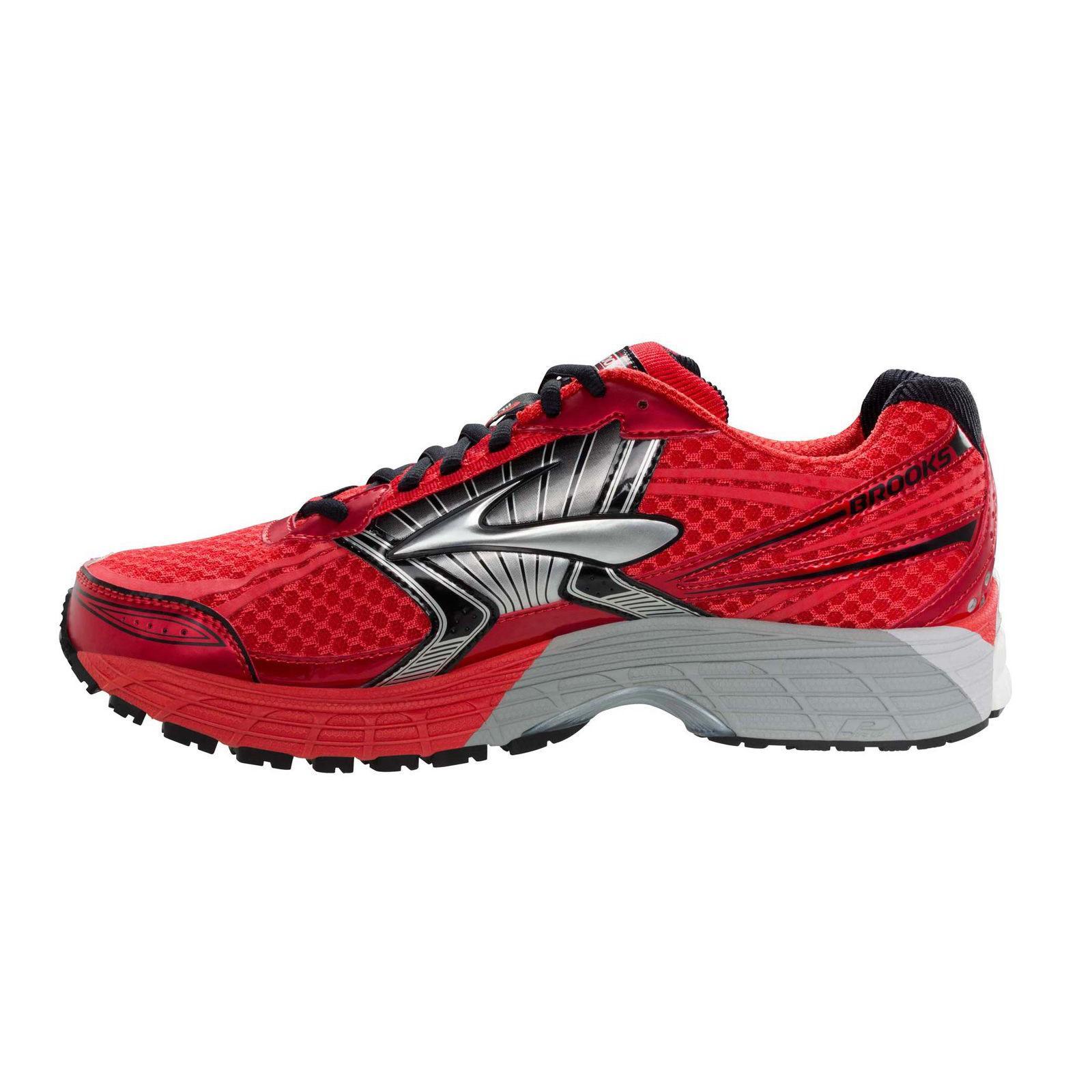 df37e1883eb Brooks Mens Adrenaline GTS 14 Running Shoes - Red - Tennisnuts.com