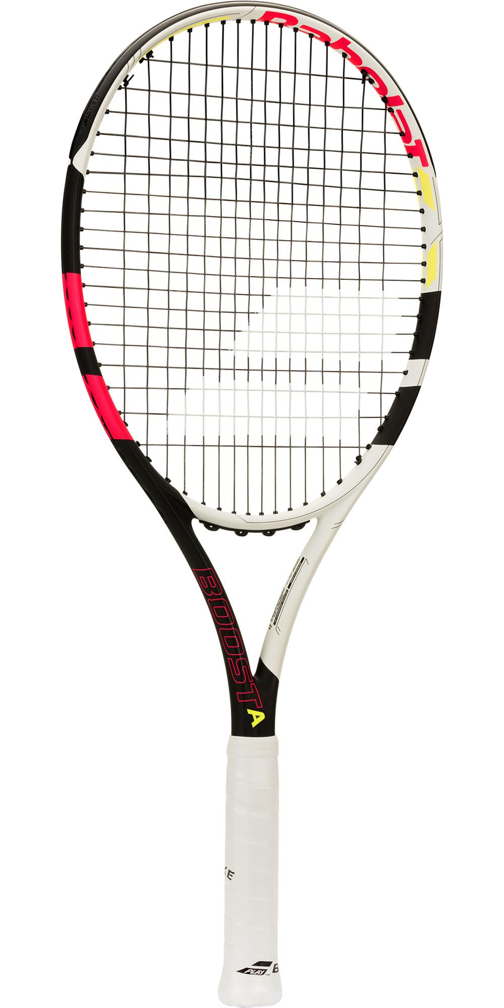 Babolat Boost Aero Tennis Racket - Black/Pink - Tennisnuts.com