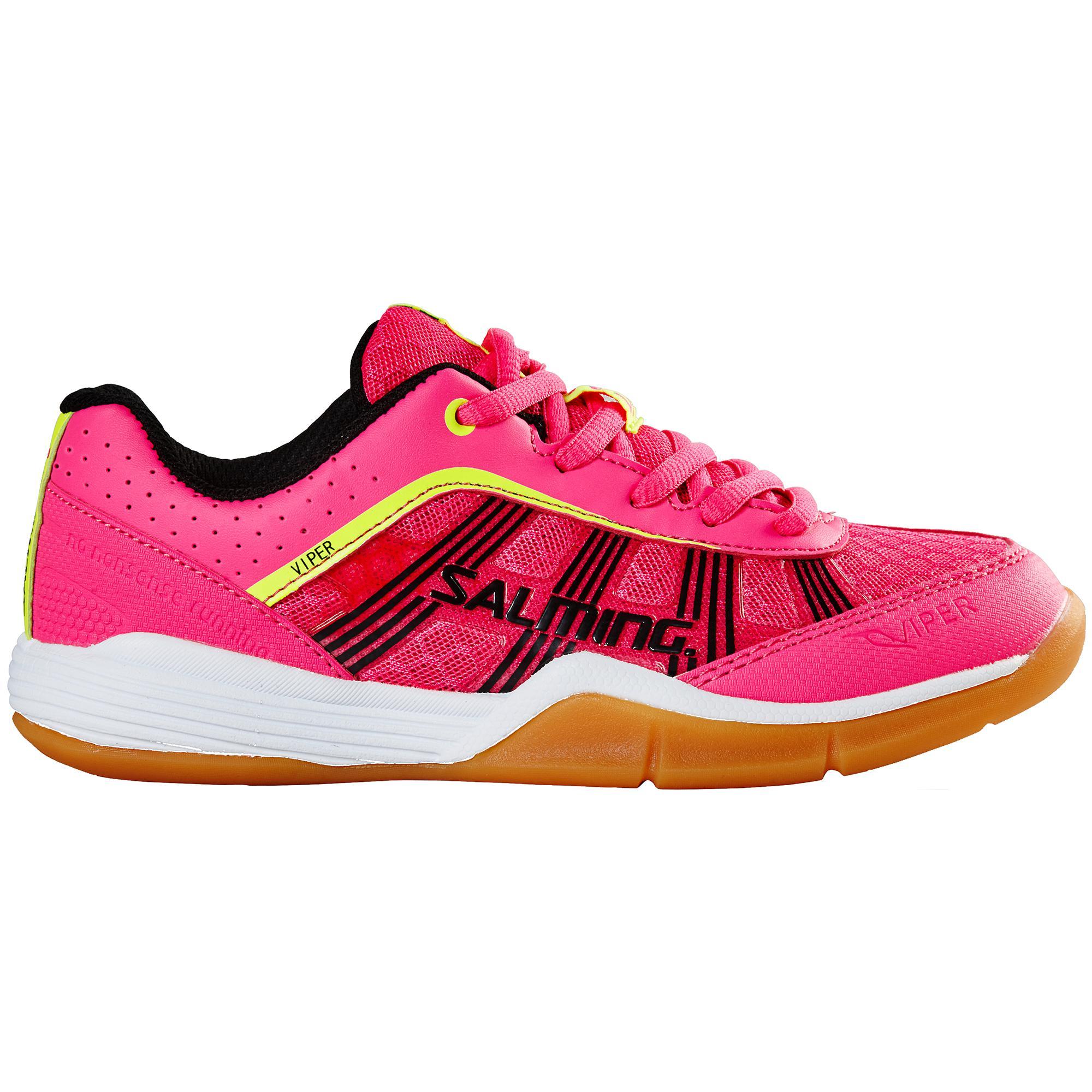 Salming Kids Viper 3.0 Indoor Junior Court Shoes - Pink Glow -  Tennisnuts.com