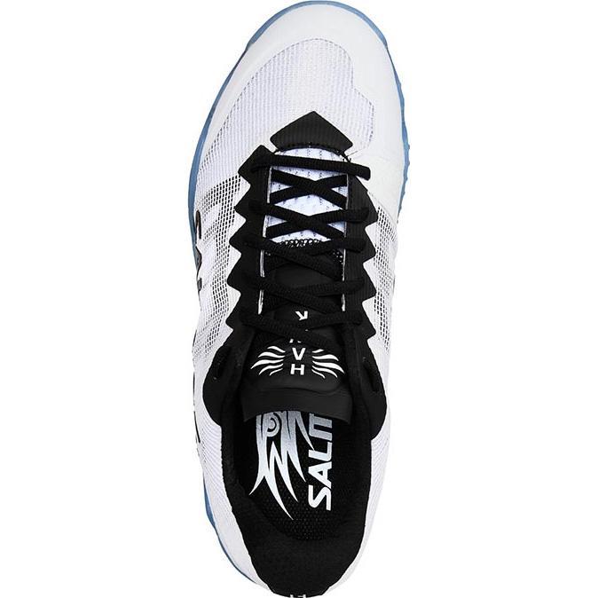 92a5da63 Salming Mens Hawk Indoor Court Shoes - White/Black - Tennisnuts.com
