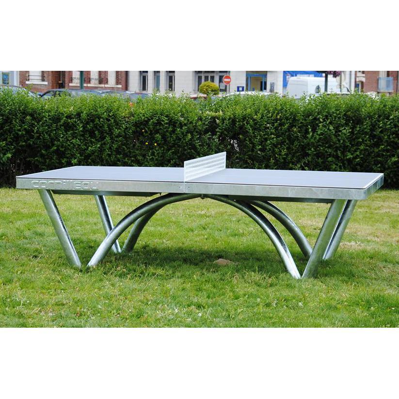 Cornilleau park permanent static 9mm outdoor table tennis - Cornilleau outdoor table tennis cover ...