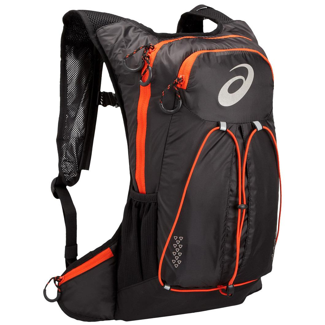 2d69326159 Asics Lightweight Running Backpack - Black/Orange