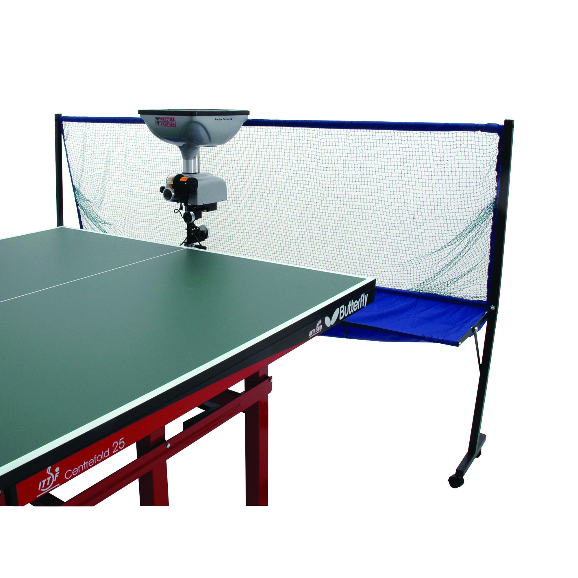Practice Partner 30 Table Tennis Robot with Collection Net ...