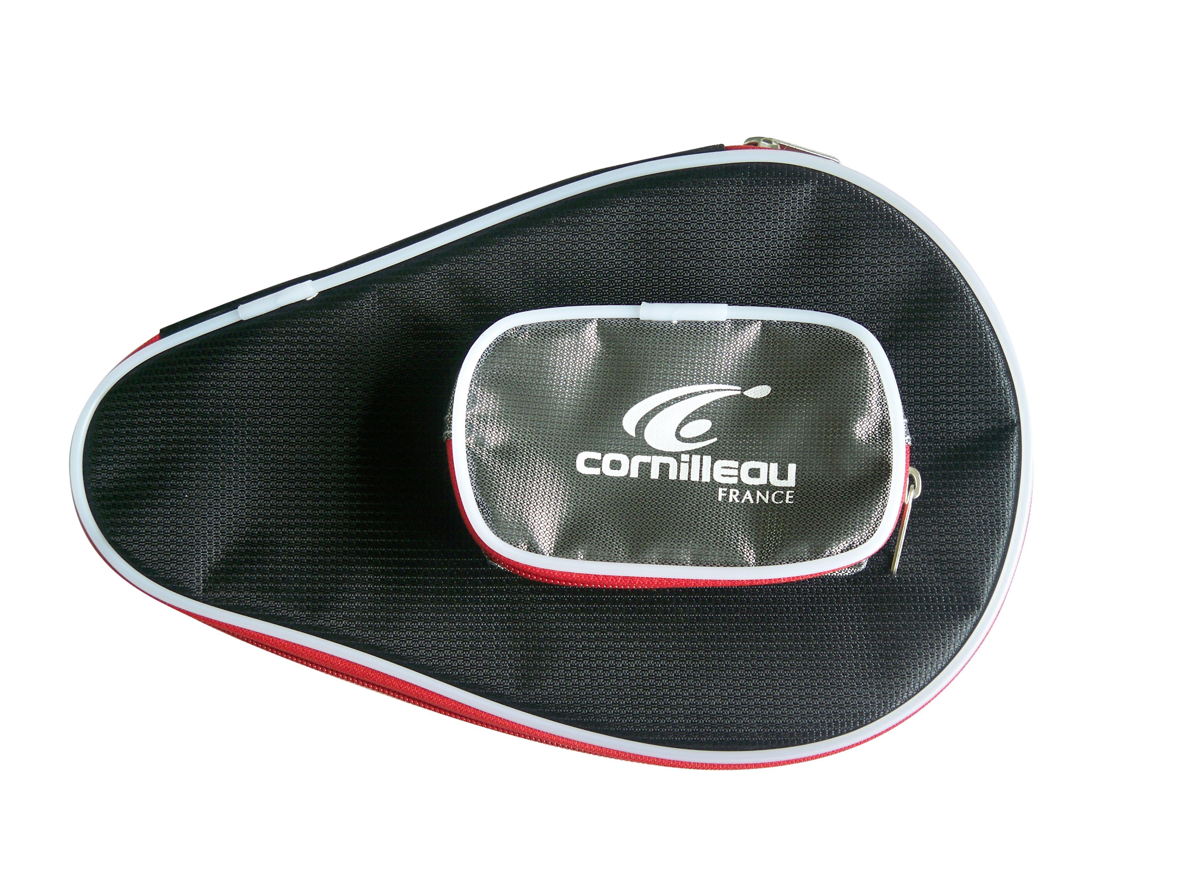 Cornilleau Table Tennis Bat Cover Black Red Tennisnuts Com
