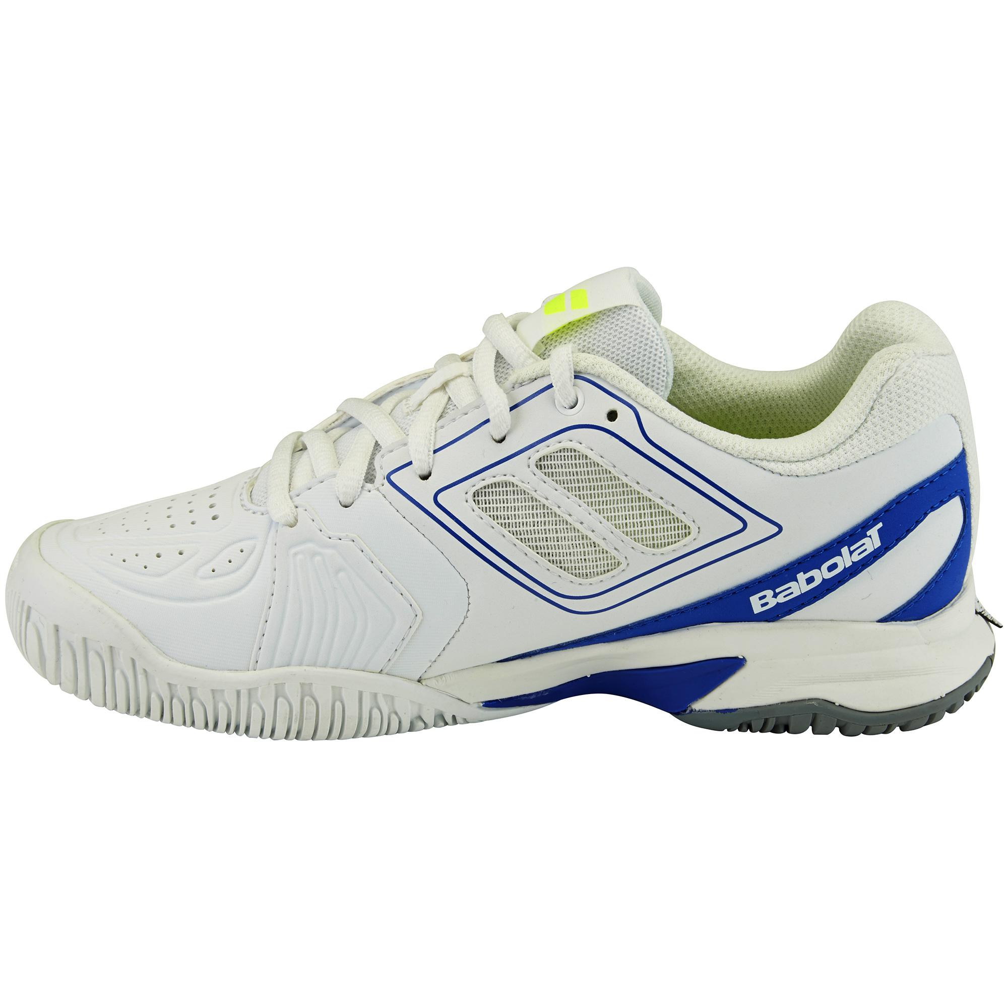 babolat propulse team all court tennis shoes white
