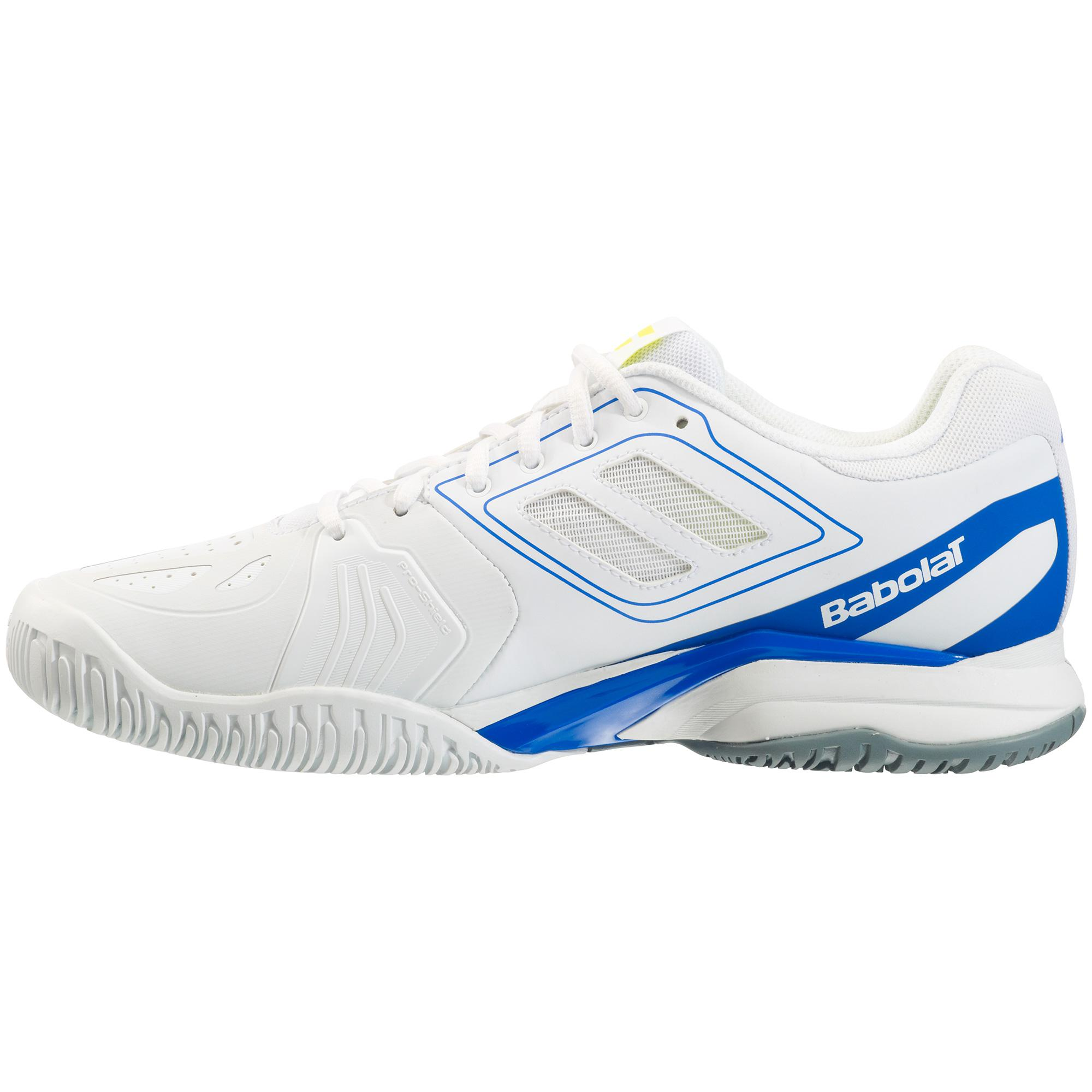 babolat mens propulse team all court tennis shoes white