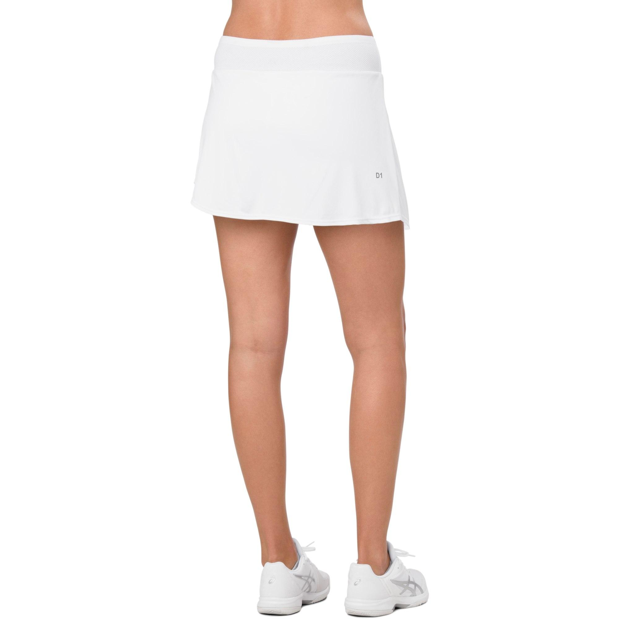 Asics Dame Club Skort - Brilliant White - Tennisnutscom-9905