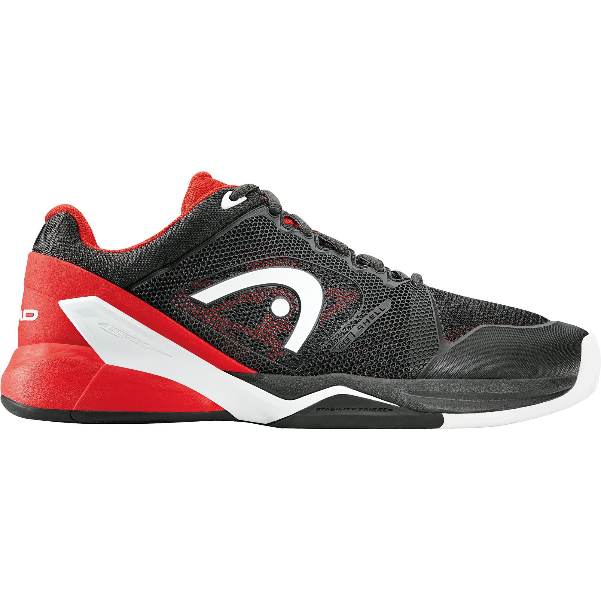 539987de8815b Head Mens Revolt Pro 2.0 Tennis Shoes - Raven Red - Tennisnuts.com
