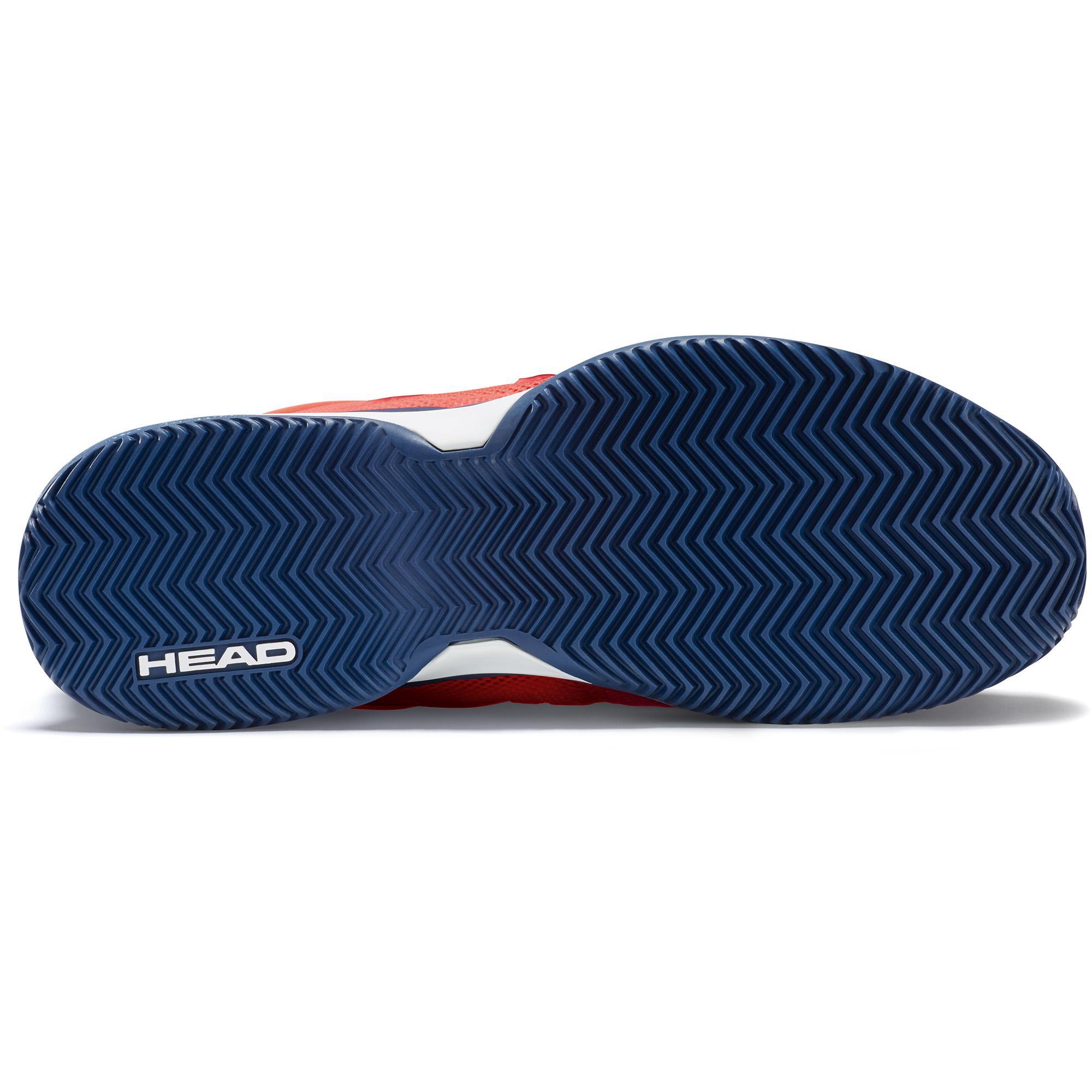 bed8c75c8 Head Mens Revolt Pro 2.5 Clay Court Tennis Shoes - Blue Flame Orange ...
