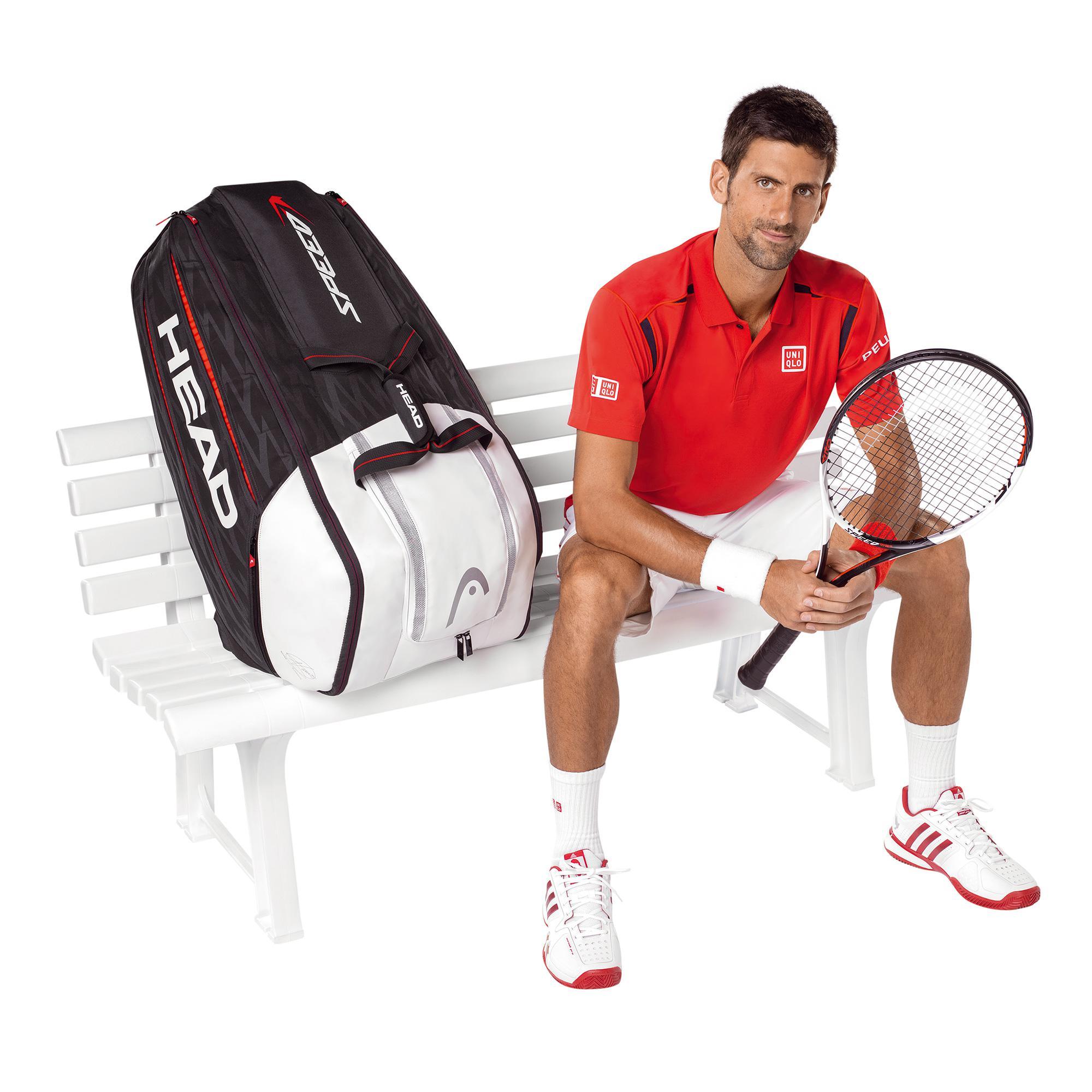 Head Djokovic 12r Monstercombi Tennis Bag 2017 Tennisnuts Com