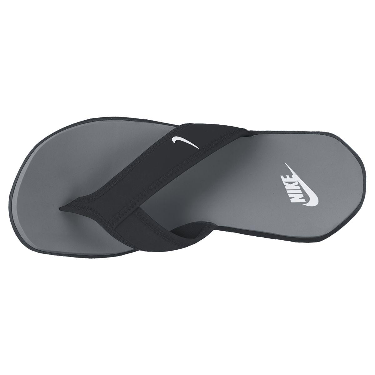 4b36555b3e0 Nike Celso Plus Thong (Flip Flops) - Black Grey - Tennisnuts.com