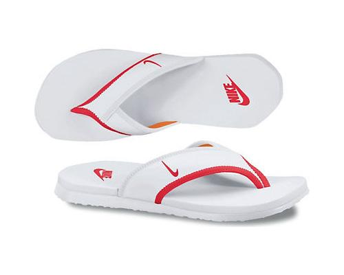 da281777aada Nike Mens Celso Thong Plus (Flip Flops) - White University Red ...