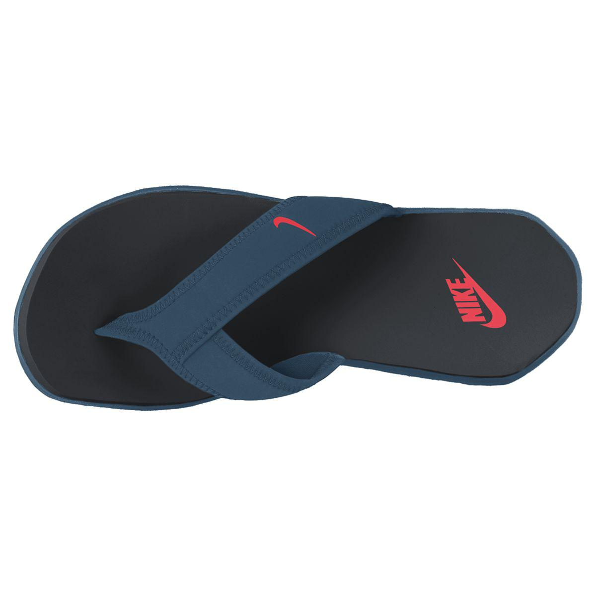 Nike Celso Plus Thong Flip Flops Blue Force Black