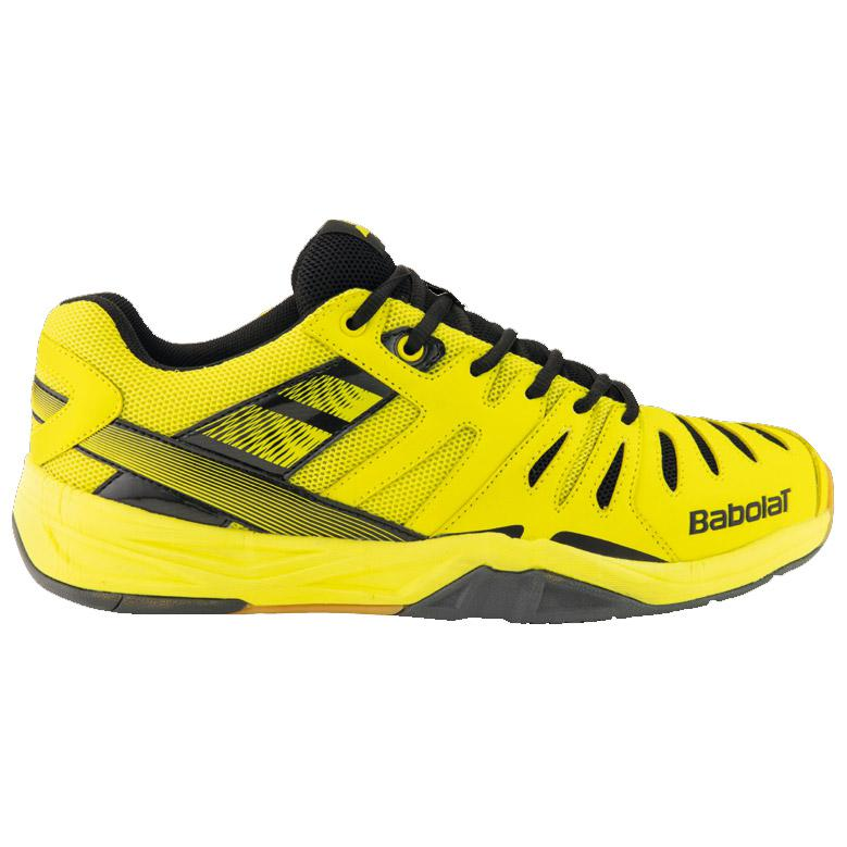 ce8fbce750d Babolat Kids Shadow Club Badminton Shoes - Yellow - Tennisnuts.com