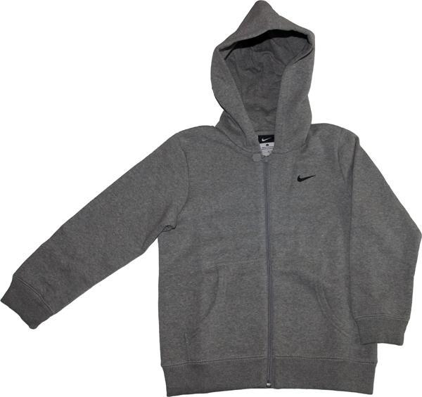 7d88ffa1cc7a Nike Little Boys Core Essential Full Zip Hoodie - Dark Grey - Tennisnuts.com