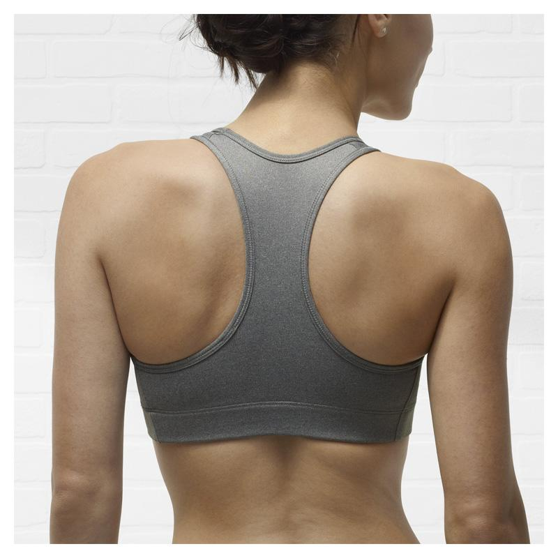 Nike Pro Victory Sports Bra - Grey/Black