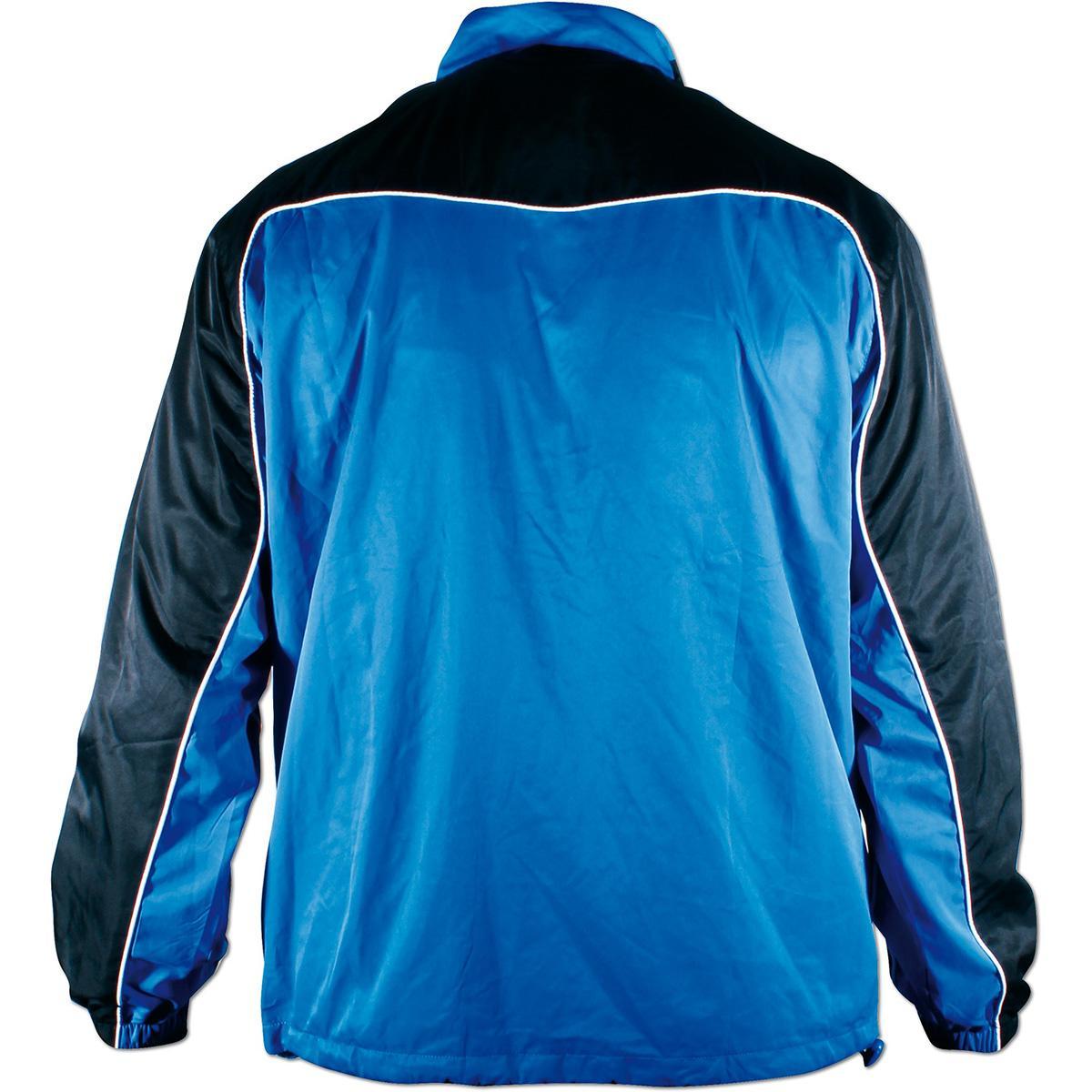 b8d1317d Victor Mens Team Line Tracksuit Jacket - Blue/Black - Tennisnuts.com