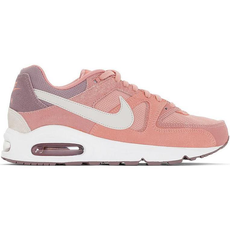 f2507d964171 Nike Womens Air Max Command Running Shoes - Red Stardust - Tennisnuts.com