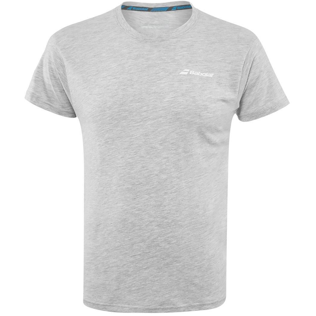 White MEDIUM Babolat Core Babolat T-Shirt Men