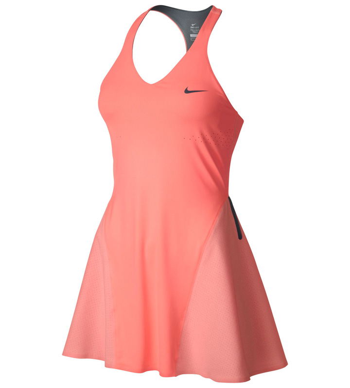 Nike Womens Premier Maria Dress - Atomic PinkArmory Blue