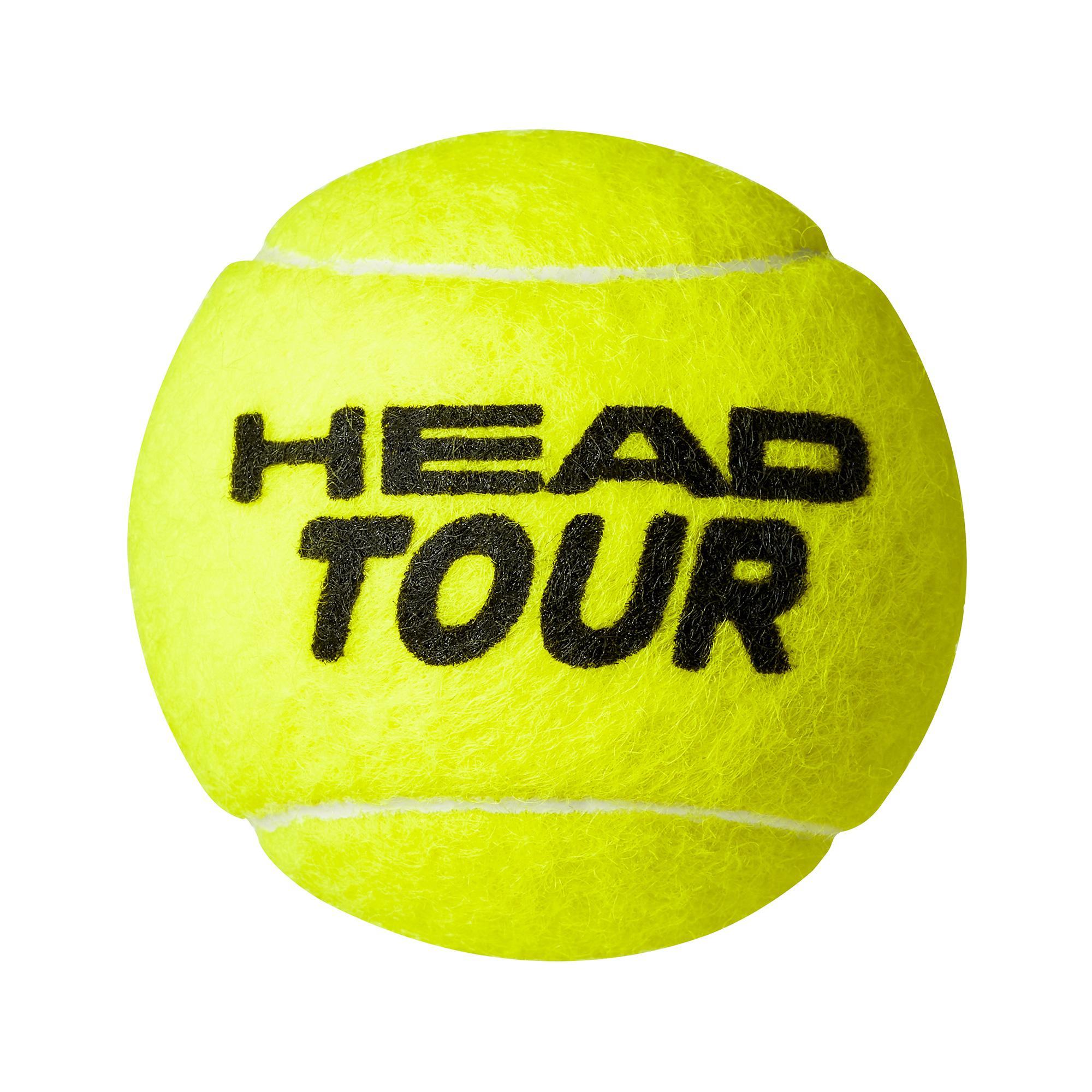 Head Tour XT Tennis Balls 12 Dozen Encore Competitive Tennis Balls