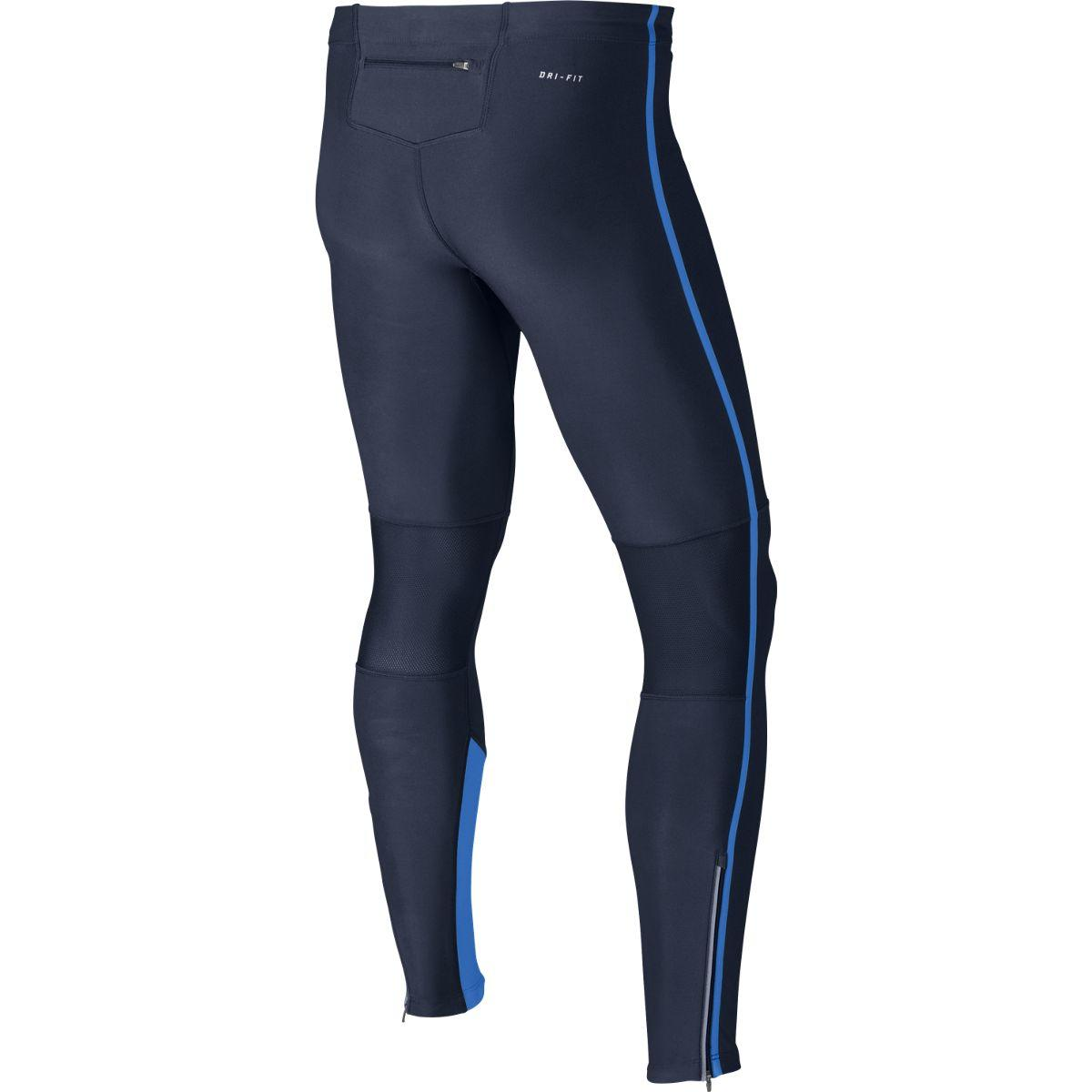 639b77f5bba275 Nike Mens Tech Running Tights - Midnight Navy - Tennisnuts.com