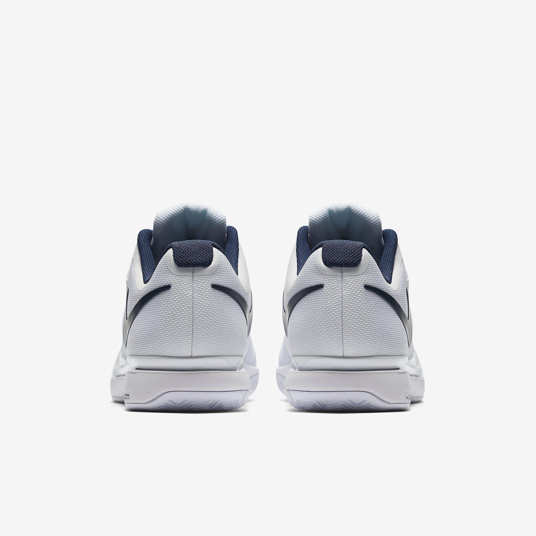 30%. Nike Mens Zoom Vapor 9.5 Tour Tennis Shoes - White/Binary Blue ...