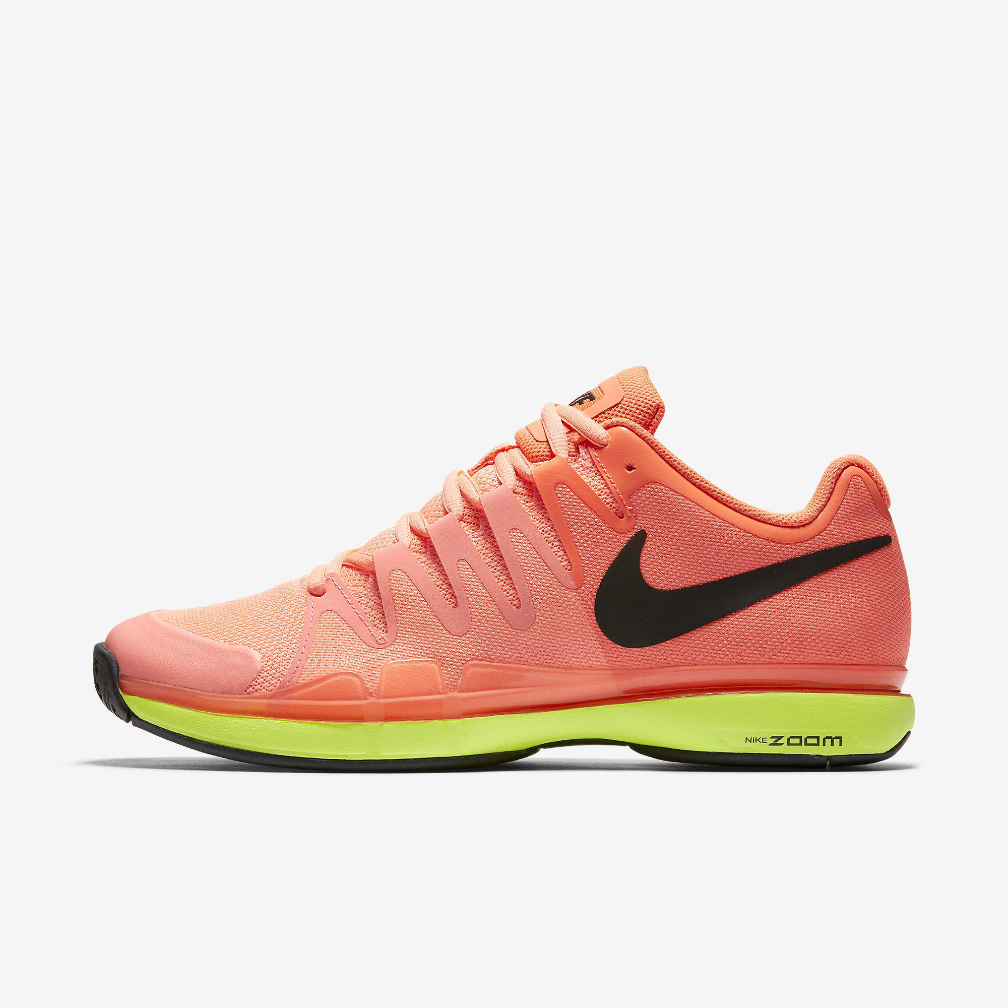 3109dc6b64b Nike Mens Zoom Vapor 9.5 Tour Tennis Shoes - Lava Glow Hyper Orange -  Tennisnuts.com