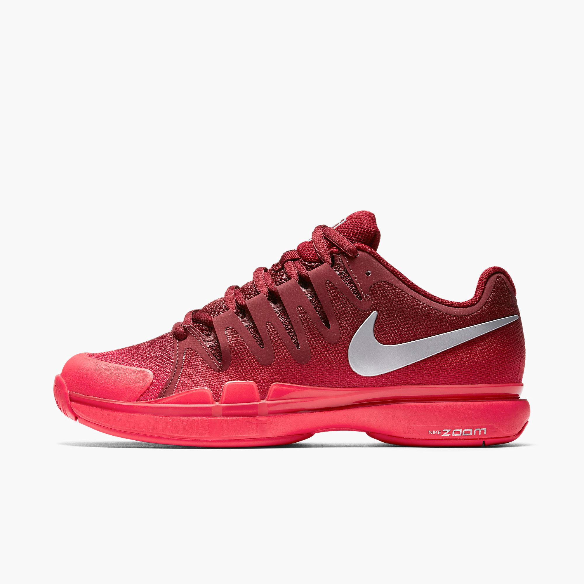 Red Womens Nike Tennis Shoes