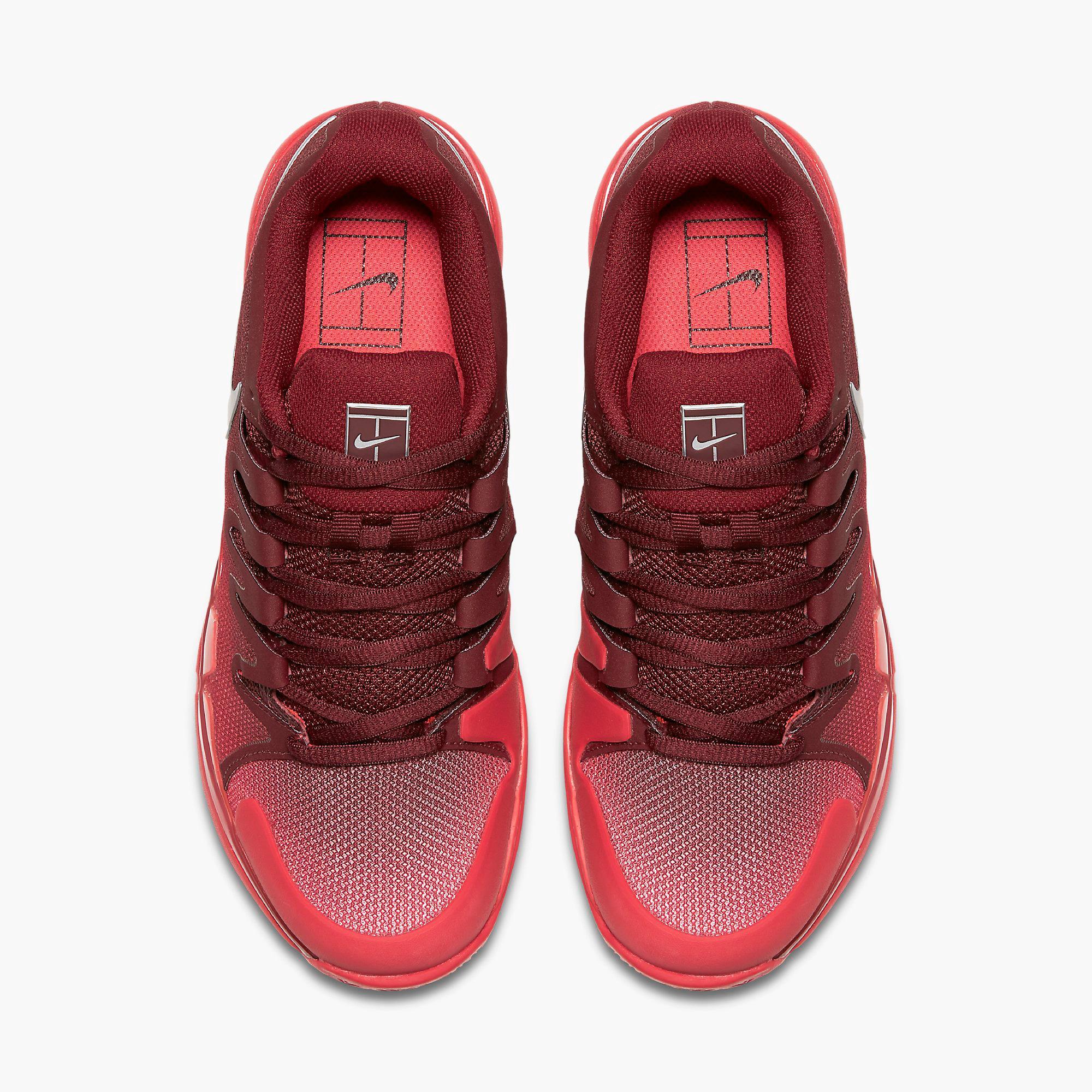 69b3fb4cc24d Nike Womens Zoom Vapor 9.5 Tennis Shoes - Team Red Siren Red ...