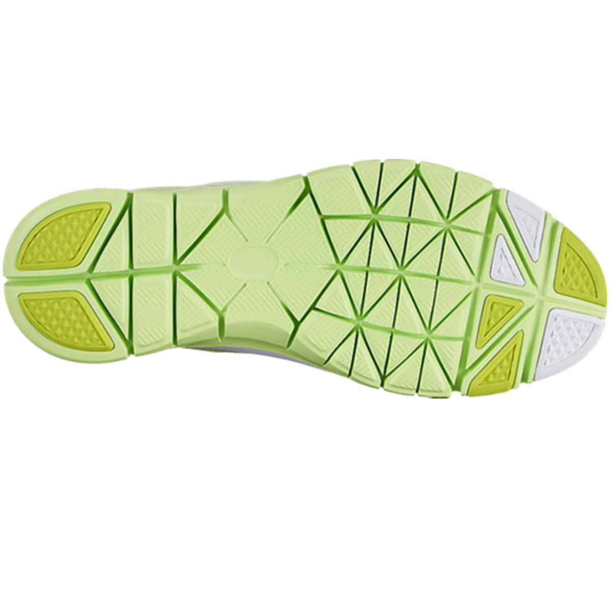 reputable site cbff9 0e118 Nike Womens Free 5.0 TR Fit 4 Breath Training Shoes - Lime Green
